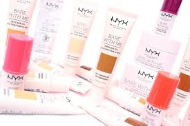nyx professional makeup bare with me