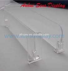 automatic freezer shelf dividers for