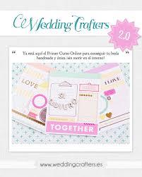 Un Curso Para Novios Handmade Wedding Crafters Muymolon