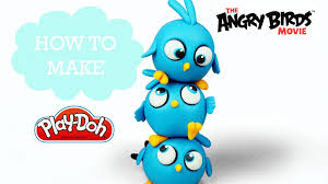 The Angry Birds Movie - Play Doh Making THE BLUES - Jay, Jake and ...
