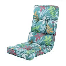 recliner cushion in alexandra green leaf