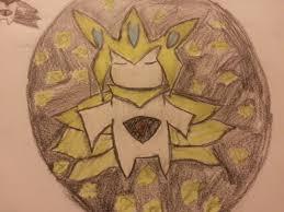 My take on Mega Jirachi : pokemon