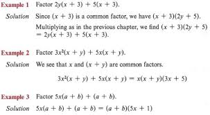factor a polynomial or an expression