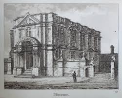 Antique Prints of Ashmolean Museum Oxford