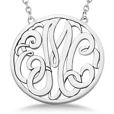 pendant necklace sterling silver
