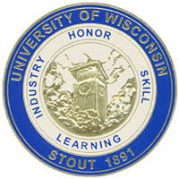 Image result for uw stout logo