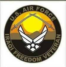 Air Force Usaf Iraqi Freedom Veteran Military Car Decal Ebay