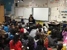 SUSD Superintendent Adela Jones reads to... - The Sanger Scene ...