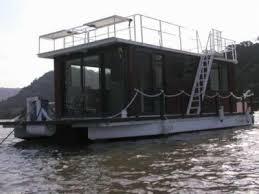 homemade pontoon houseboat easy craft