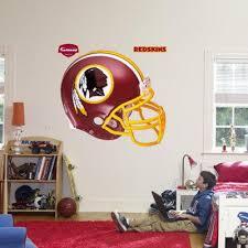 Redskins Helmet Fathead Wall Decal Allposters Com