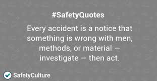 top safety quotes to improve your safety culture