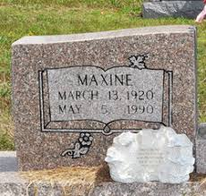 Belle Maxine West Hilliard (1920-1990) - Find A Grave Memorial