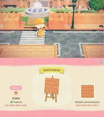 Animal Crossing New Horizons New Tiles Streets Wood Steps And Paths Qr Codes Custom Designs In 2020 Animal Crossing Animal Crossing Game Animal Crossing Villagers