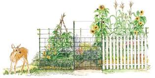 Choose The Best Garden Fence Mother Earth News