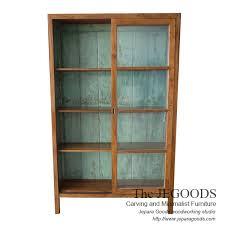 retro java cabinet display 2 sliding
