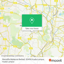 how to get to manulife msia berhad