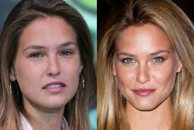 victoria secret models with and without