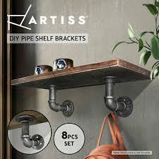 artiss wall shelves industrial display