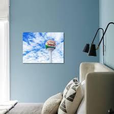 Pensacola Beach Florida Iconic Beach Ball Water Tower With Blue Skies Photographic Print Cory Woodruff Art Com