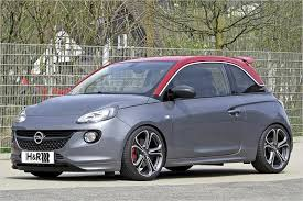 Opel Adam S - 35mm deeper thanks to H & R Sport Springs