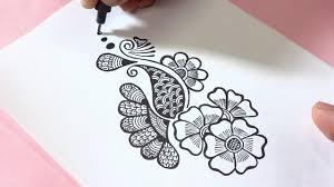 mehandi design and drawing