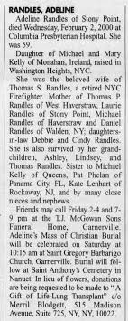 Obituary for Adeline Kelly Randles - Newspapers.com