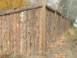 480 Rough Sawn Slabwood Fence 2 Jpg 480 360 Rustic Fence Backyard Fences Bamboo Fence