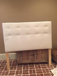 easy tufted headboard how to make a