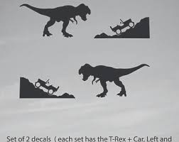 Jeep T Rex Sticker Etsy