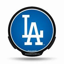 Los Angeles Dodgers Led Window Decal Light Up Logo Powerdecal Balmart Sports Merchandise