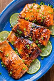 Honey Glazed Salmon Recipe ...