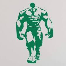 Custom Name Incredible Hulk Wall Vinyl Decor Wall Decal Customvinyldecor Com