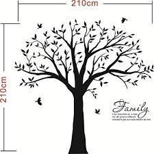 mafent family tree wall decal quote family like branches on a tree le