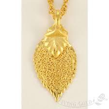 mini rose leaf pendant necklace in