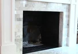 painting the interior of a fireplace