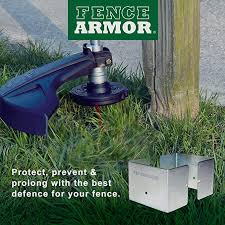 One Fence Armor Post Trimmer Guard 4x4 1 Guard Protects Half The Post Excl Vat 2 57