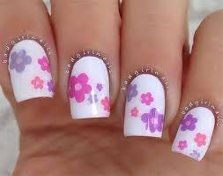 20 spring flower nail art designs