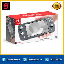 Máy Chơi Game Nintendo Switch Lite - Màu Gray