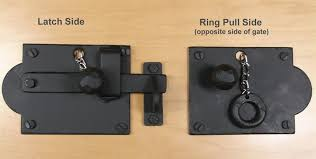 Gate Latch Opens From Both Sides Gate Latch Latches Gate Handles