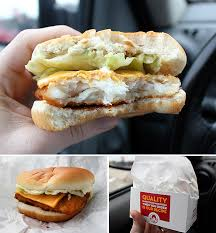 fast food fried fish sandwiches