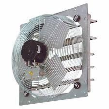 sef shutter mount wall exhaust fans