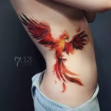 Phoenix Tattoo 100 Zdjec Najlepszych Szkicow Wartosc Dla