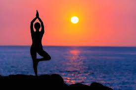 outdoor yoga in los angeles santa