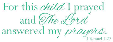 Decal Wall For This Child I Prayed The Lord Answered My Prayers Contemporary Wall Decals By Design With Vinyl