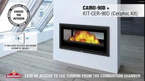wood burning fireplace insert cairo