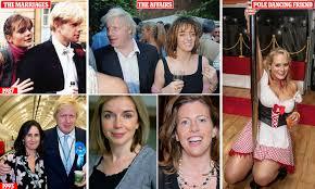 Boris Johnson and his very busy love ...
