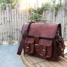 mens laptop bag cross leather bag