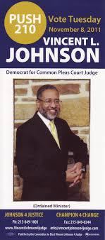 Vincent L. Johnson For Judge - Home | Facebook