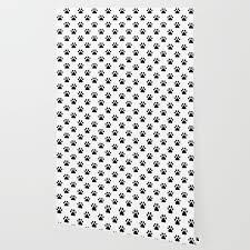 paw print lover pattern