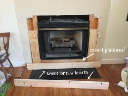 diy fireplace makeover at home with